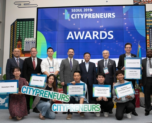 Brezee Technologies wins the 2019 Citypreneurs Challenge in Seoul, Korea.