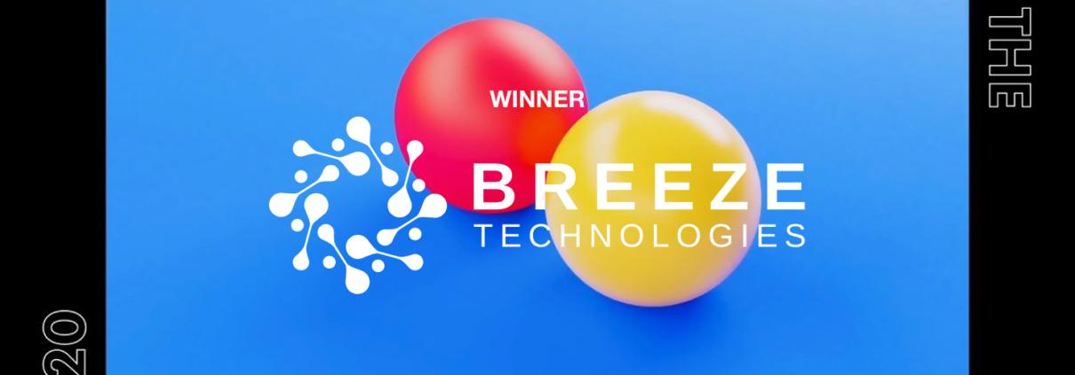 Breeze Technologies ist der Gewinner der Startup Games 2020