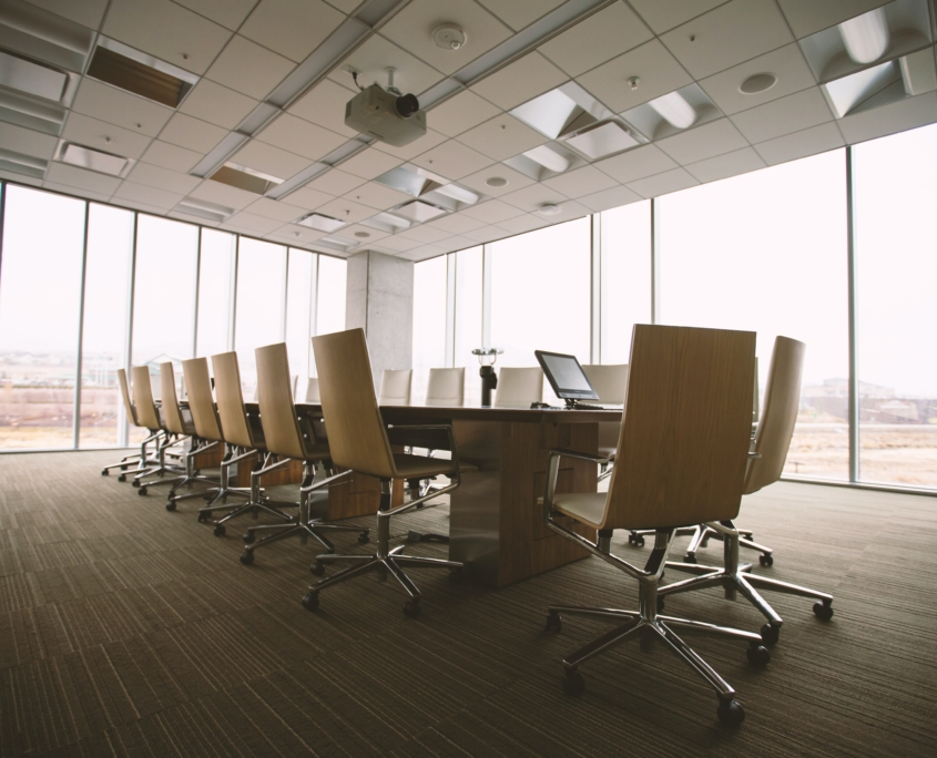 Meetingraum in einem modernen Büro