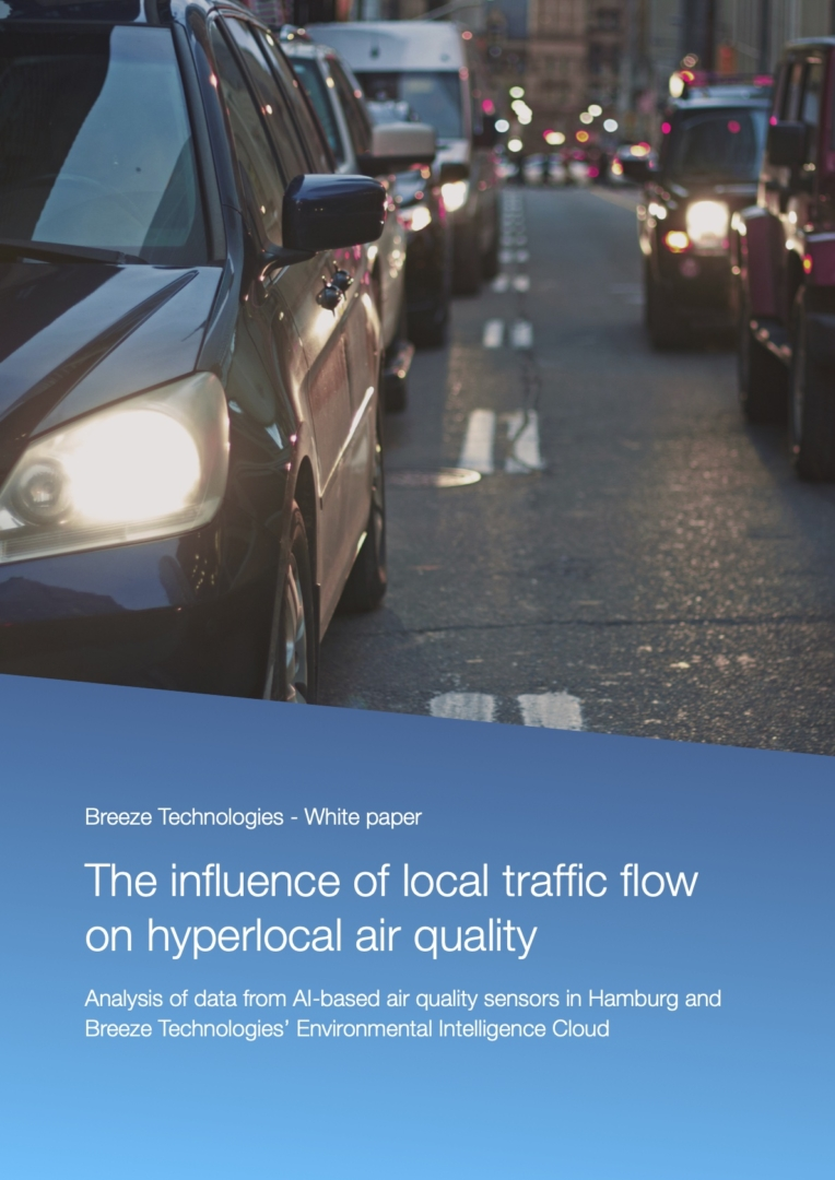 White paper: The influence of local traffic flow on hyperlocal air quality